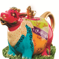 Théière Vache Gusti