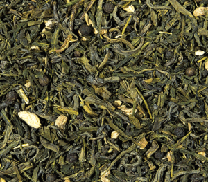 gingembre citron thé vert aromatisé